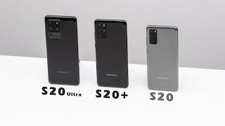 So sánh Galaxy S20 vs S20+ vs S20 Ultra: Đâu là sự lựa chọn hoàn hảo?