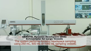 Dynamic Headspace (DHS) Autosampler for Large Vessels