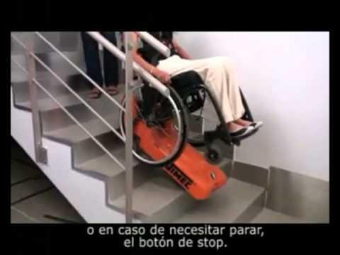 Oruga salvaescaleras tractor de orugas para movilizar for Soluciones para escaleras