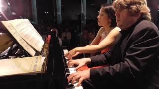 ~ピアノでオーケストラを奏でる~ ピアノデュオ Takahashi|Lehmann/ハンガリー舞曲集第4番