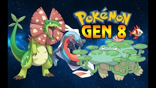 NEW POKEMON GEN 8 (Fan-Made Designs)
