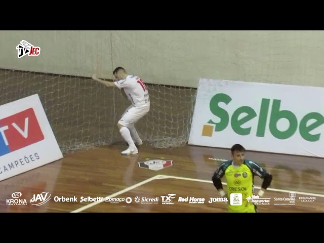 TV JEC - JEC/Krona 4x2 Marreco - 19ª rodada LNF