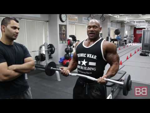 How to: EZ Bar BICEP CURLS with Fred BIGGIE Smalls (Pro Series)