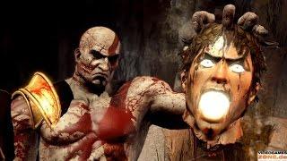 God of War 3 - Death Scenes (Gods)
