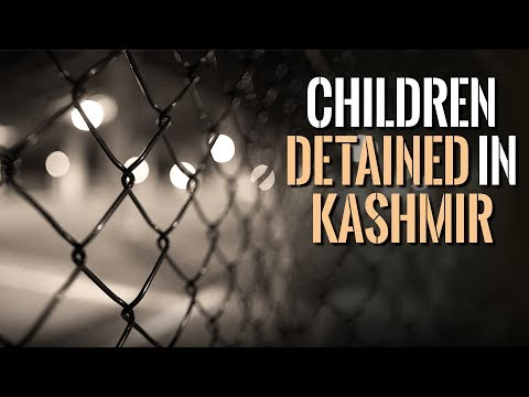 Children Detained in Kashmir, Family Suffers