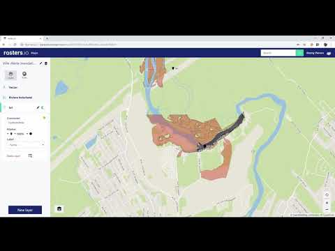 Rasters.io : Maps and IoT in real-time