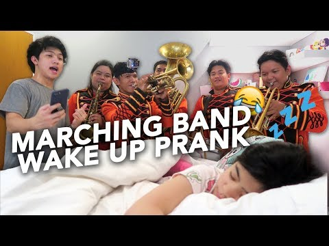 Download Youtube: MARCHING BAND WAKE UP PRANK ON SISTER (On Birthday) | Ranz and Niana