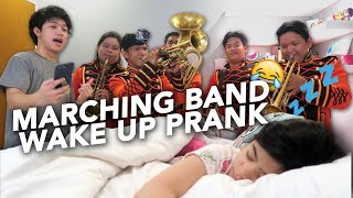 MARCHING BAND WAKE UP PRANK ON SISTER (On Birthday) | Ranz and Niana