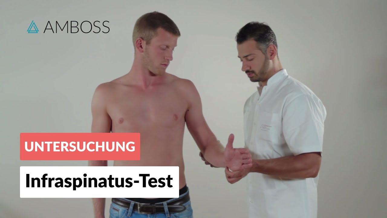Infraspinatus-Test - Orthopädie - Untersuchung der Schulter ...