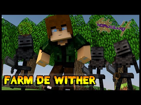 Farm de Wither Skeleton - Nofaxuland 4 #39 (Minecraft + Mods 1.7.10)