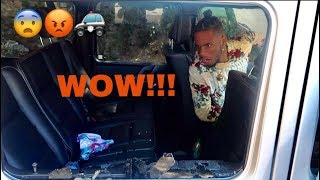 SOMEONE BROKE INTO TREY'S CAR!!!! (POLICE WEREN'T EVEN CONCERNED) thumbnail
