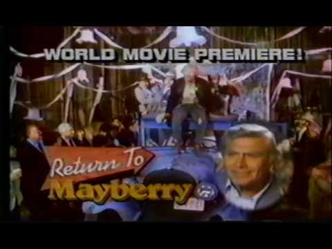 Return to Mayberry Andy Griffith  Ron Howard NBC TV Movie 41386