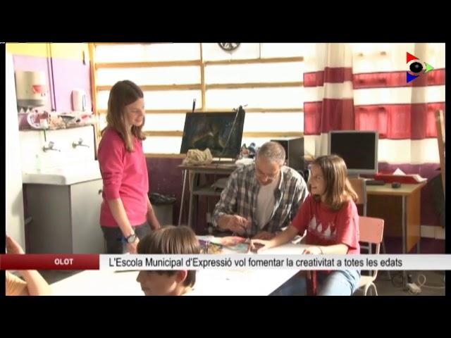 Olot, ciutat educadora: ESCOLA MUNICIPAL D'EXPRESSIÓ