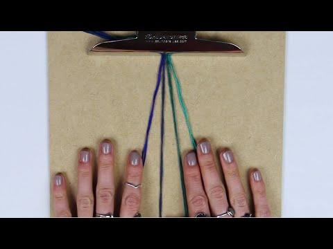 FISHTAIL BRAID TUTORIAL | Making Friendship Bracelets | For Beginners