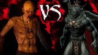 КТО СИЛЬНЕЕ #2: Скрытый VS Харкон | Skyrim | Ведьмак 3 | DAMIANoNE