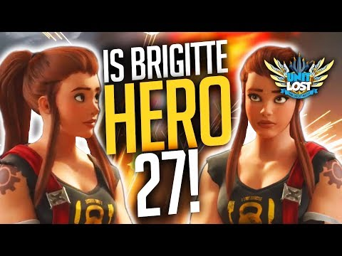 Overwatch - WILD SPECULATION! Is Brigitte hero 27!? Tank Support Hybrid!?