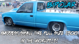 FASTEST SMALL TIRE 1500 FULL SIZE TRUCK IN THE WORLD?!?! BIPOLAR