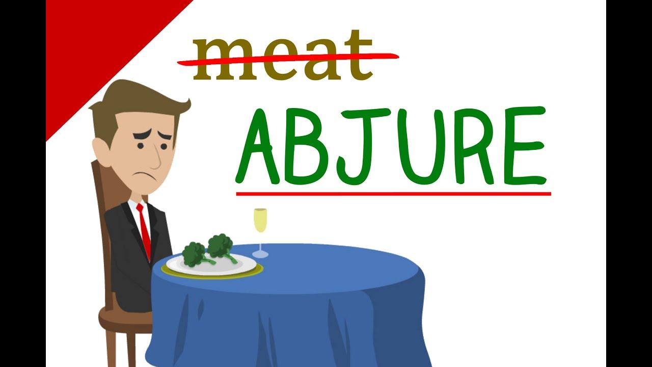Image result for abjure