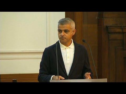 Apoiantes de Donald Trump interrompem discurso do presidente da câmara de Londres