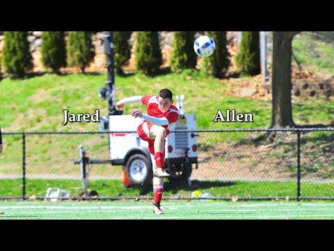 Jared Allen - College Soccer Recruiting Highlight Video - Class of 2018