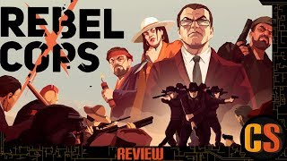 REBEL COPS - PS4 REVIEW (Video Game Video Review)