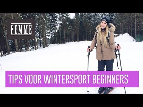 Tips voor wintersport beginners - FEMME