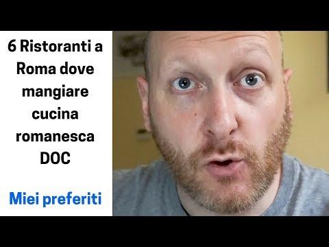 6 Ristoranti a Roma dove mangiare cucina romanesca DOC