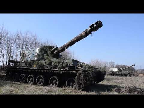 Тренування артилеристів ООС: