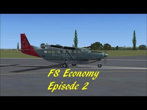 FS Economy Episode 2: Vliegen met de Cessna Caravan: Van KCID naar KISW