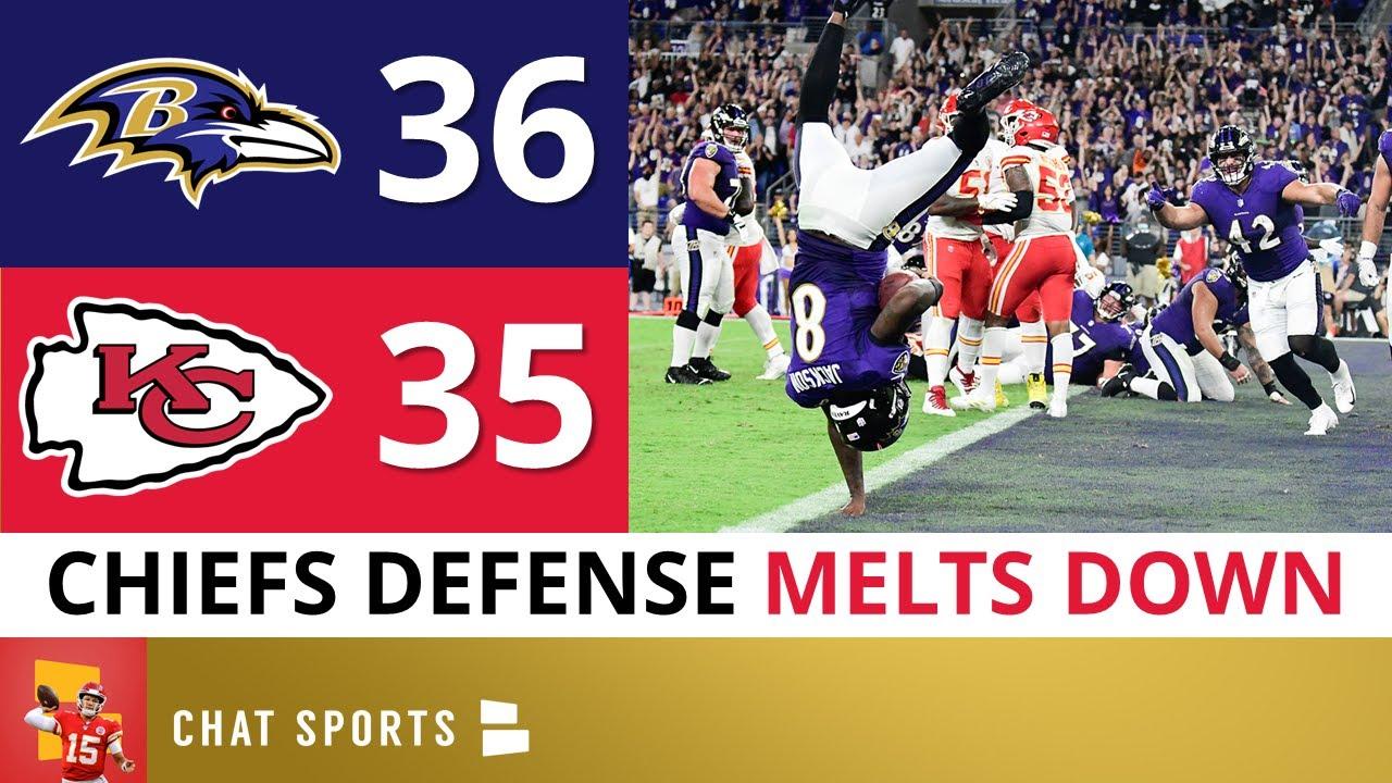 Download Chiefs LOSE To Ravens In EPIC FASHION On SNF: Defense STRUGGLES, Patrick Mahomes, Lamar Jackson