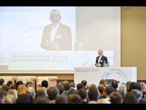 Christoph Moss Keynote zum Newsroom in Wien