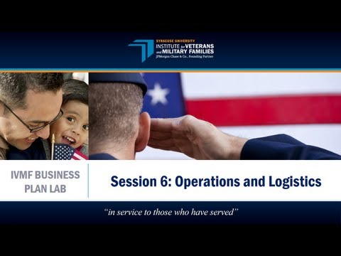 IVMF Business Plan Lab | Operations & Logistics