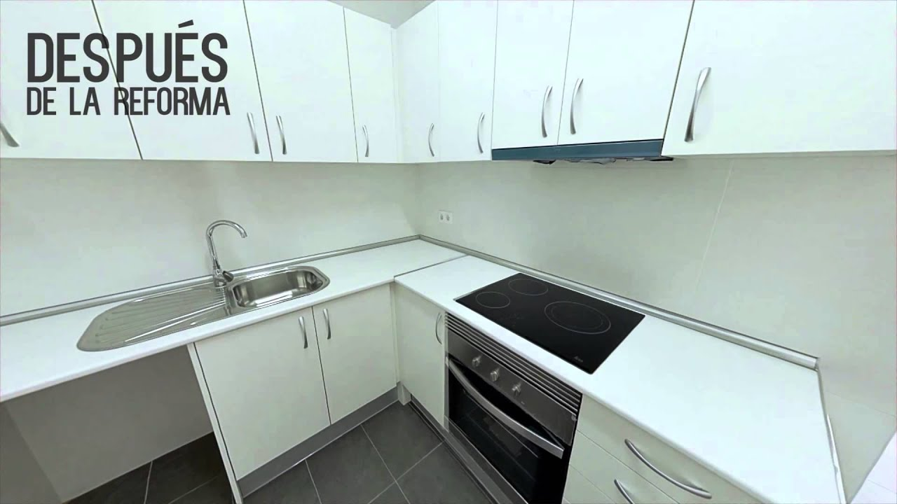 Reformas de pisos antes y después Barcelona - YouTube