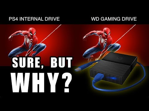 """WD PS4 """"game drive"""" - Yeah, BUT WHY?"""