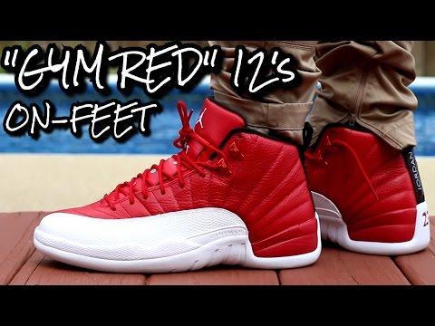 """""""Gym Red/Alternate"""" Air Jordan 12 W/On-Feet Review"""