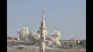 الأخبار عربية - قوات النظام تسيطر على أحياء من مدينة الميادين في شرق سوريا