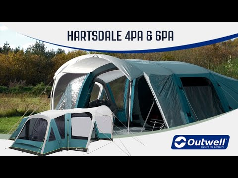 Outwell Hartsdale 4PA & 6PA - Inflatable Air Tent (2020) | Innovative Family Camping