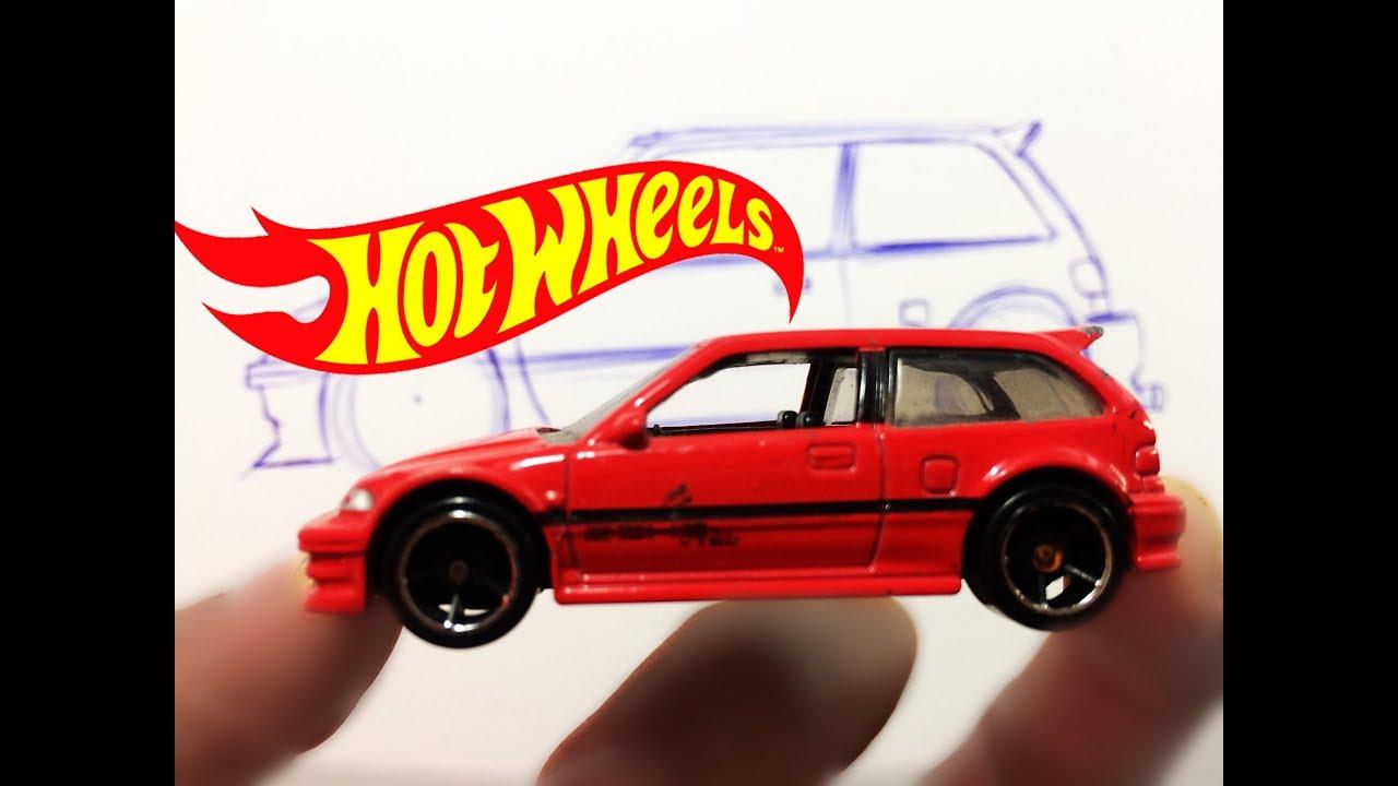 Dibujando Un Auto Hot Wheels Dibujar Hot Wheels