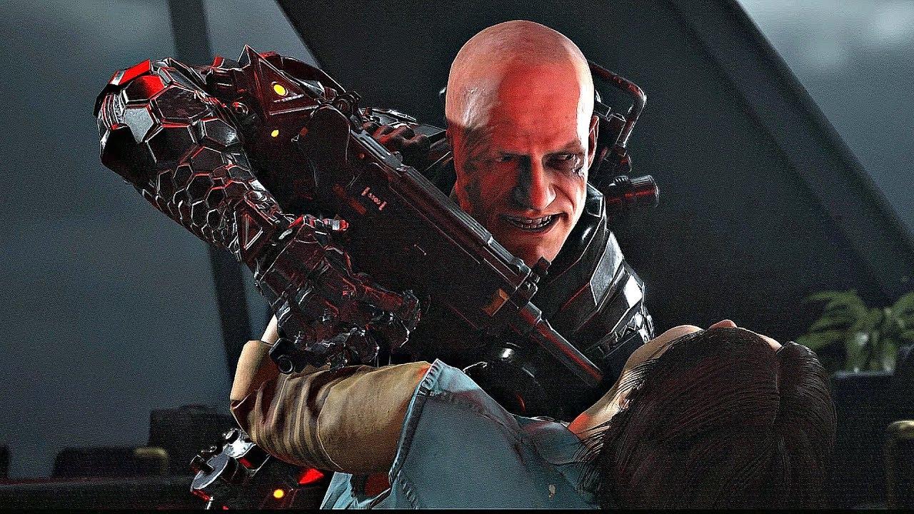Wolfenstein Youngblood Ending Final Boss Fight 4k 60fps Youtube