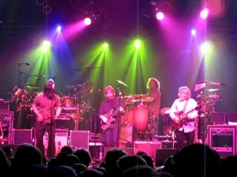 "The String Cheese Incident with Trey Anastasio (Phish) - ""Outside and Inside"" (partial)"