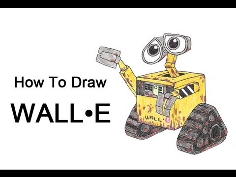 How To Draw Wall E