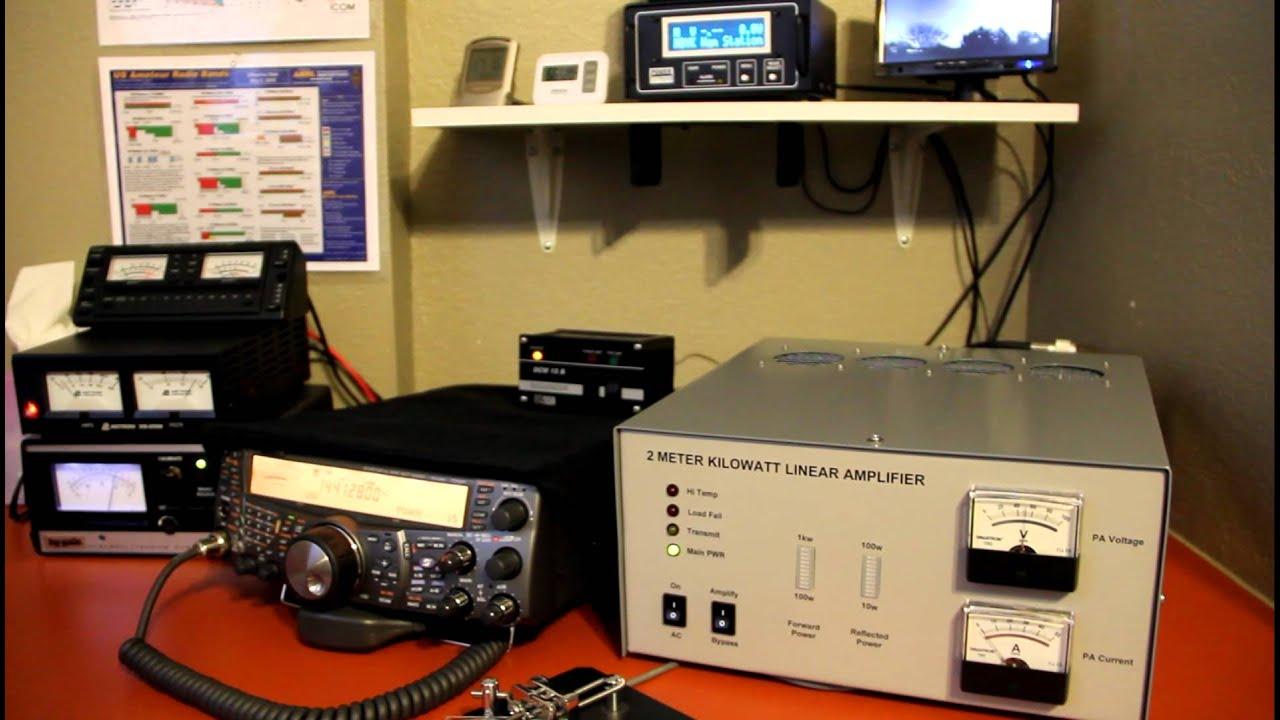 My new '2 Meter Kilowatt Linear Amplifier'