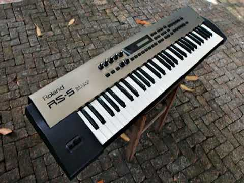 Roland RS-9 RS-5 Demo