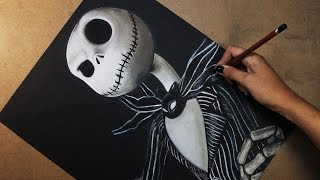 Speed Drawing: Jack Skellington (The Nightmare Before Christmas ) | Diana Díaz