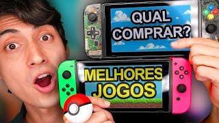 Os melhores jogos do Nintendo Switch para cada ocasião!