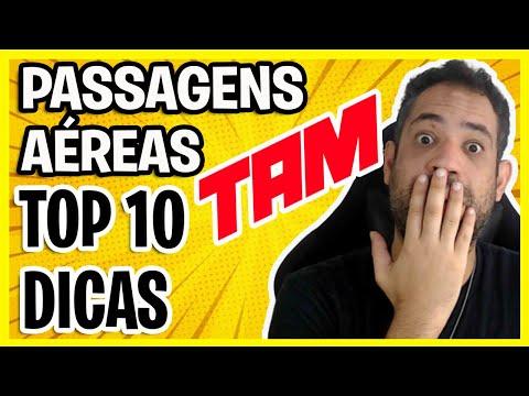 TAM PASSAGENS AÉREAS - TOP 10 DICAS!