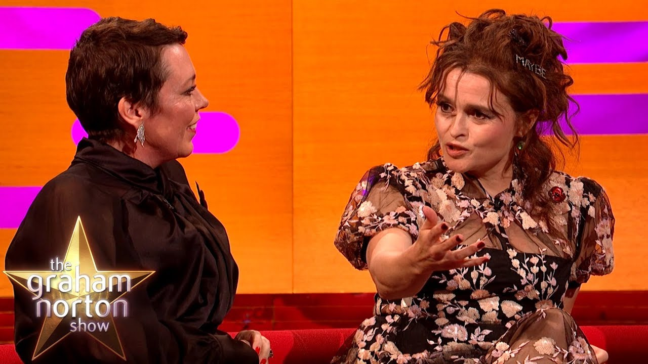 Helena Bonham Carter Used A Psychic To Speak To Princess Margaret's Ghost  | The Graham Norton Show