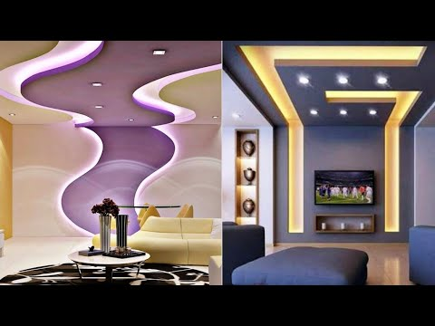 Top 100 False ceiling designs for living room 2020 | Modern POP false  ceiling design ideas images - YouTube
