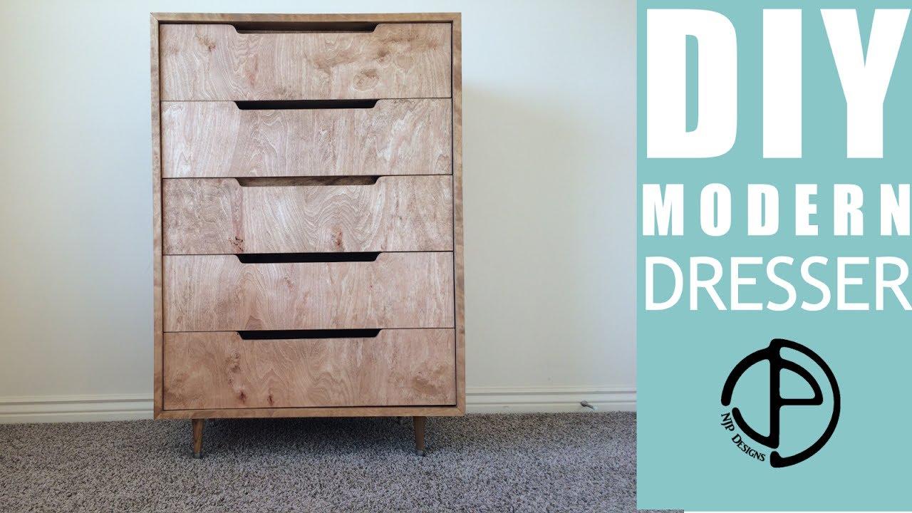 The Ellsworth Project A Diy Modern Dresser Build