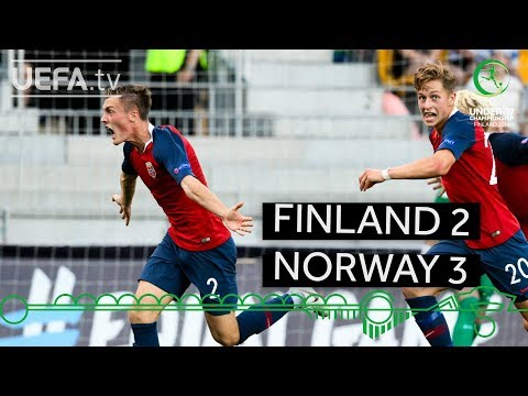 #U19EURO highlights: Finland 2-3 Norway